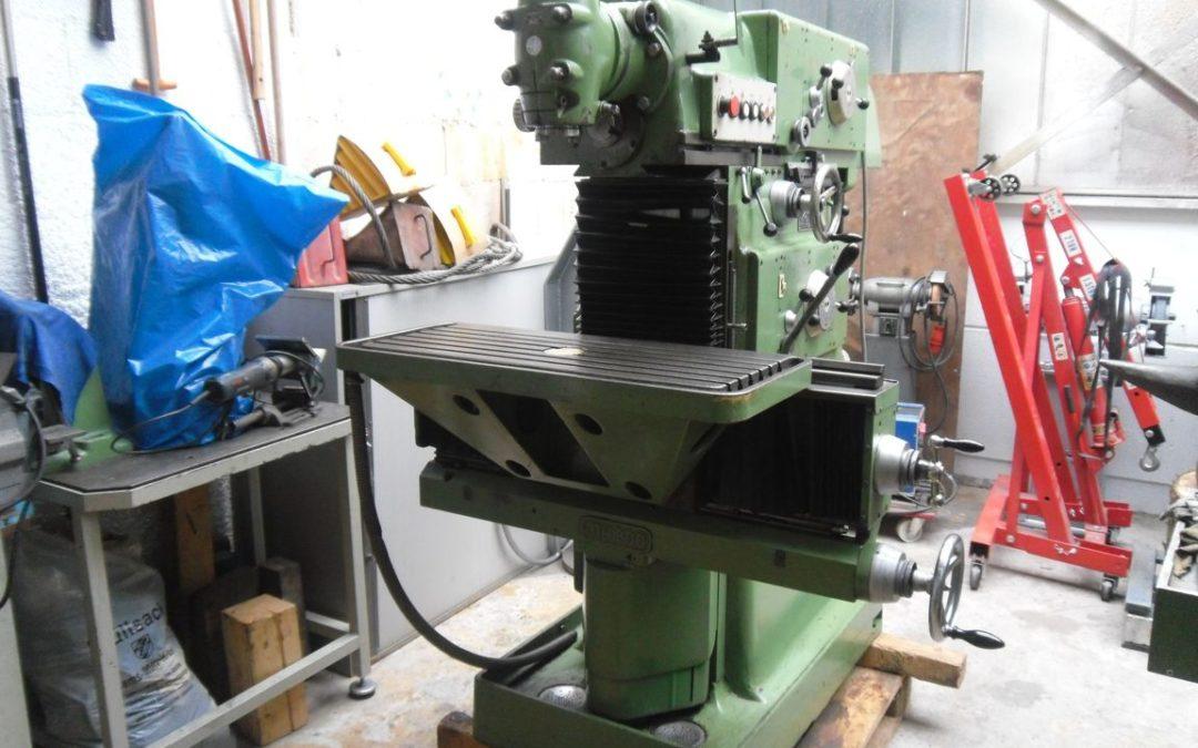 Bereits verkauft – Fraesmaschine Maho mh 800